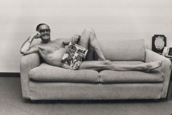 Stan Lee Centerfold